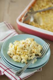 Lady's Cheesy Mac from Paula Deen.  Warning, you need to make a double batch or your family will riot when you take this away.
