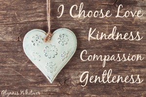 Is your compassion reservoir empty?  Read this post by Glynnis Whitwer for a reminder to choose love before productivity.