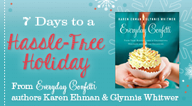Need a head-start on the holidays? Check out the free 7 Days to a Hassle-Free Holiday series from Glynnis Whitwer and Karen Ehman