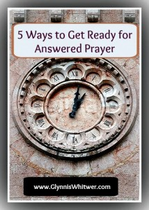 Are you waiting for God to answer your prayers? Most of us are. I've got 5 tips for how to great ready for God to answer that prayer.