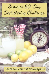 Join me for a 60-Day Lighten Up Decluttering Challenge